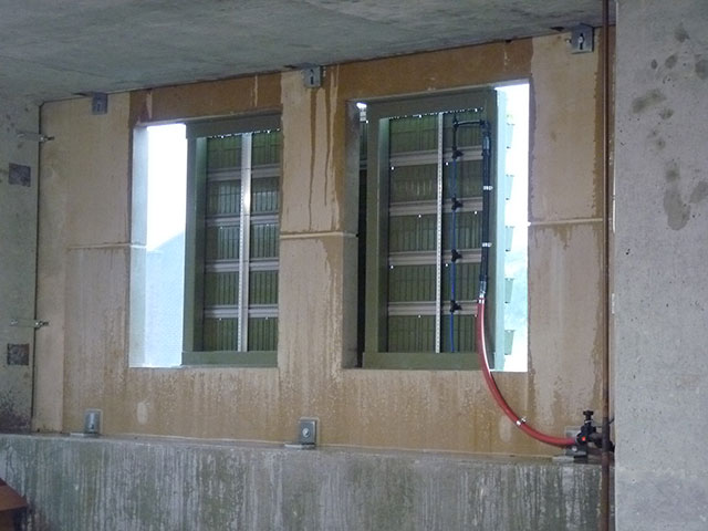 LiveWall Green Design on Bloomington Monroe Parking Garage