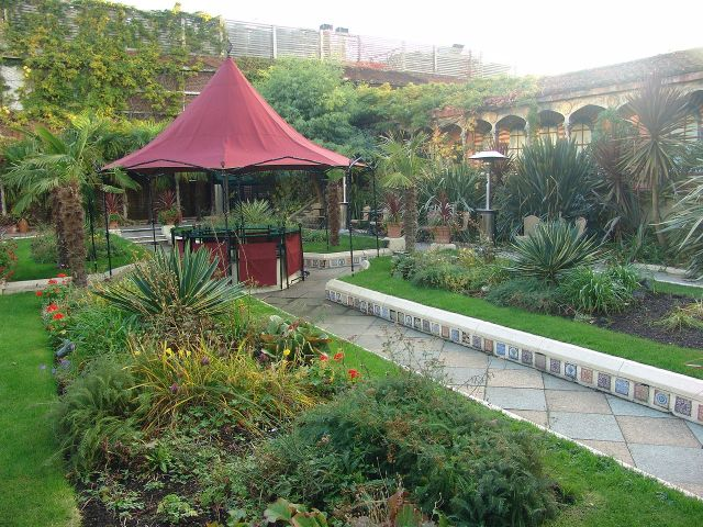 Greenroofs.com Project Week Kensington Roof Gardens Derry & Toms