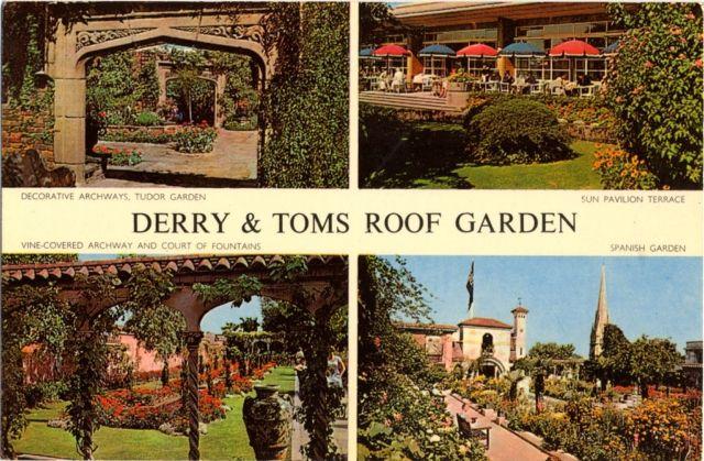 Greenroofs.com Project Week Kensington Roof Gardens Derry & Toms