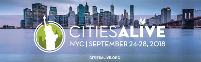 Registration Is Now Open for CitiesAlive 2018 in NYC