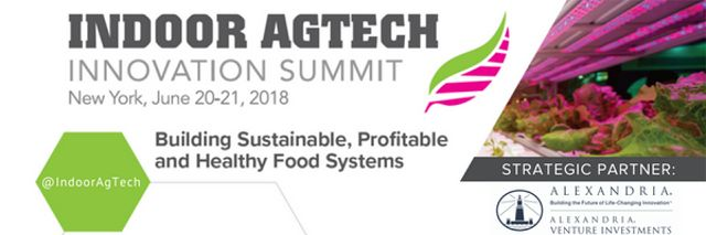 Greenroofs.com Discount Indoor AgTech Innovation Summit 2018