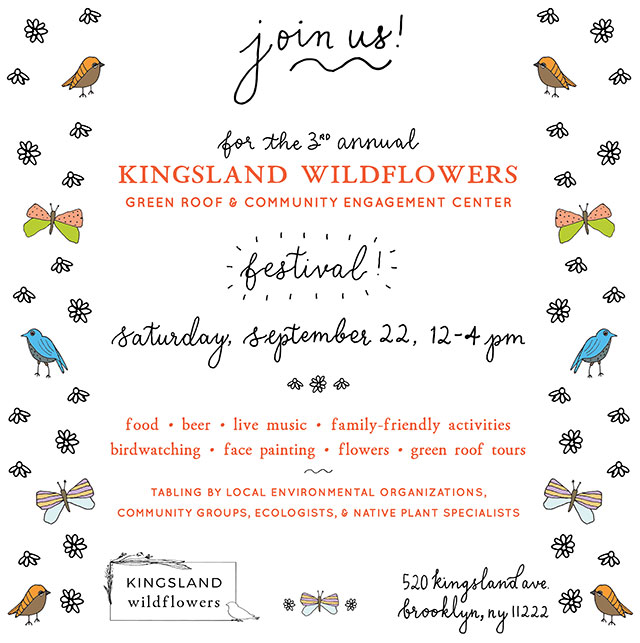 3rd Annual Kingsland Wildflowers Festival in Greenpoint this