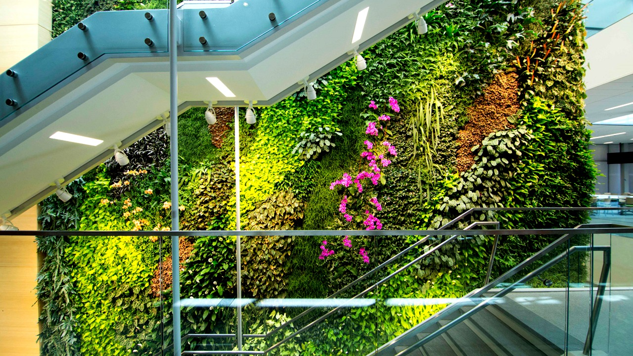 Rutgers University NJ Institute for Food, Nutrition, and Health Living Wall Featured Image