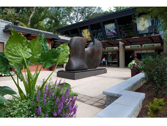 Atlanta Botanical Garden, Hardin Visitors Center