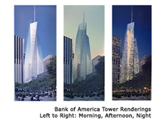 Bank Of America Tower At One Bryant Park Greenroofs Com
