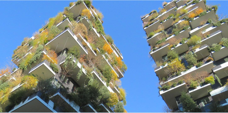 bosco verticale  vertical forest   milan