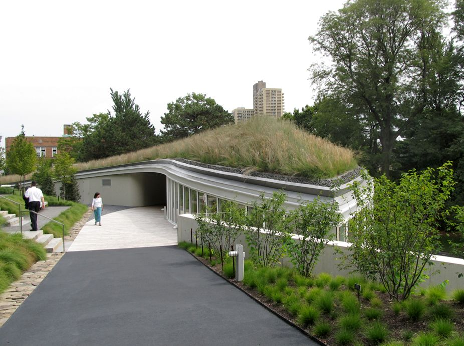 Brooklyn Botanic Garden Visitor Center Greenroofs Com