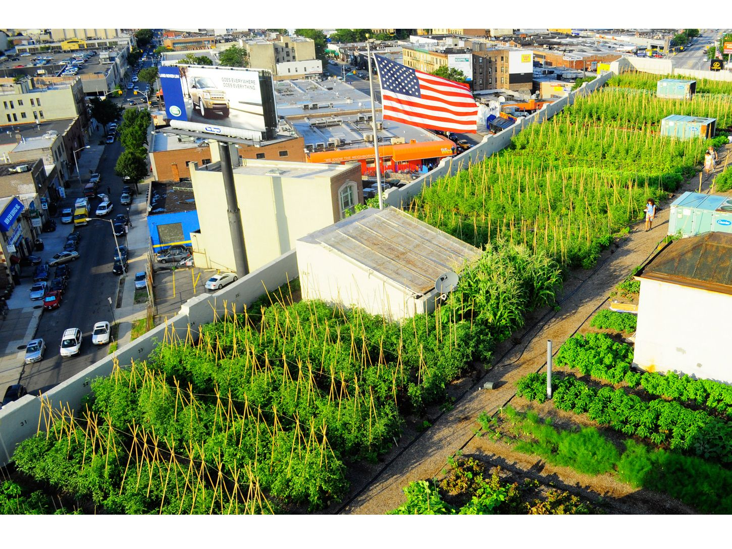 Brooklyn Grange Rooftop Farm Flagship Farm 1 At
