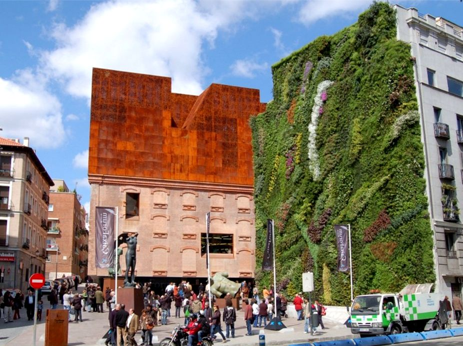 Caixa Forum Museum Vertical Garden Featured Image