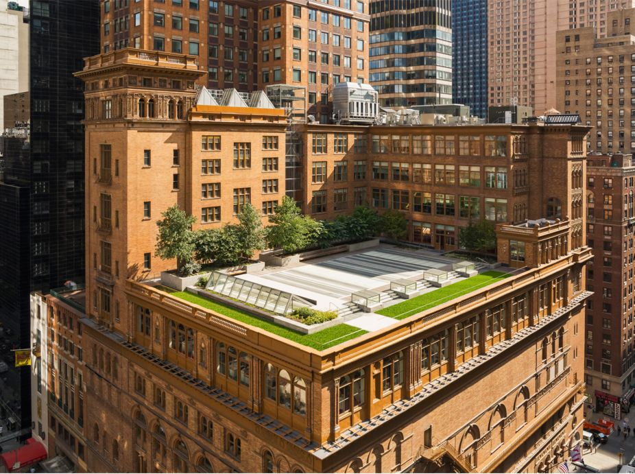 Carnegie Hall Weill Roof Terrace Featured Image