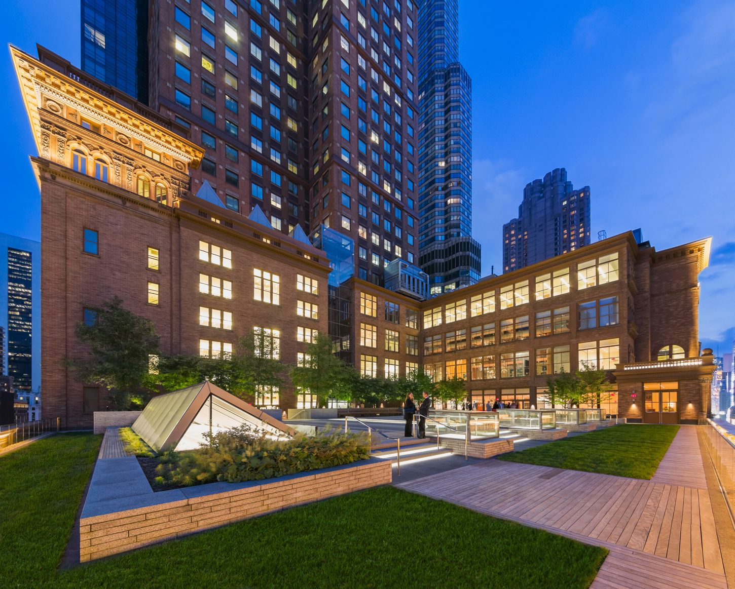 Carnegie Hall Weill Roof Terrace Greenroofs Com