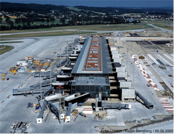 Dock E at Z?rich-Kloten International Airport (ZRH) Featured Image