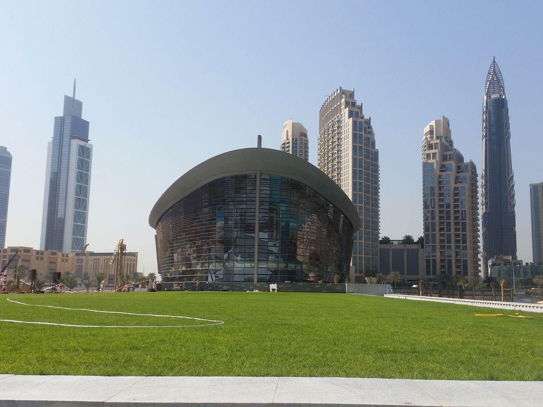 Dubai Opera Garden Green Roof & Vegetated Terraces Featured Image