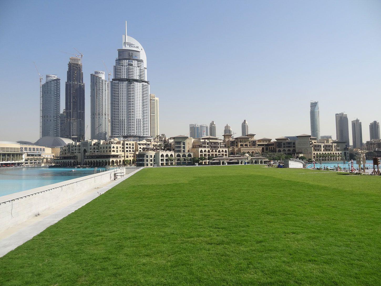 Dubai Opera Garden Green Roof Amp Vegetated Terraces