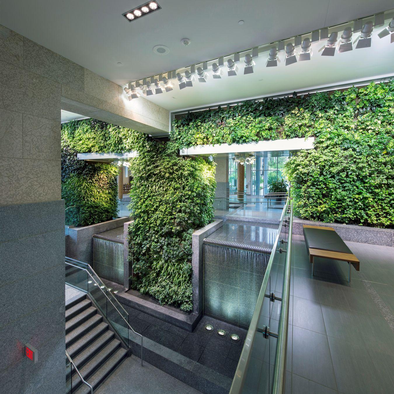 Edmonton Federal Building Living Wall Biofilter