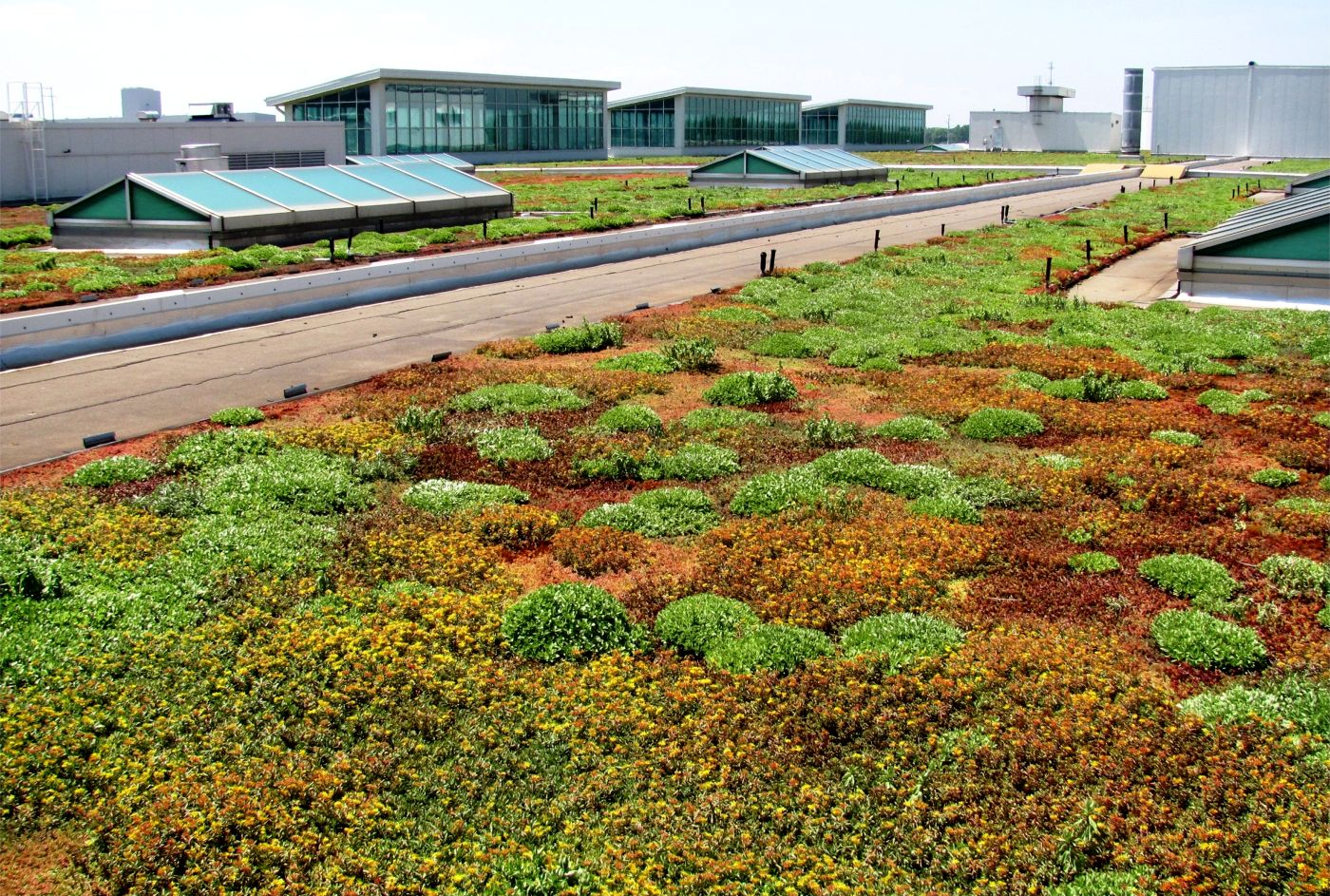 Ford River Rouge Plant >> Ford Motor Company's River Rouge Truck Plant - Greenroofs.com