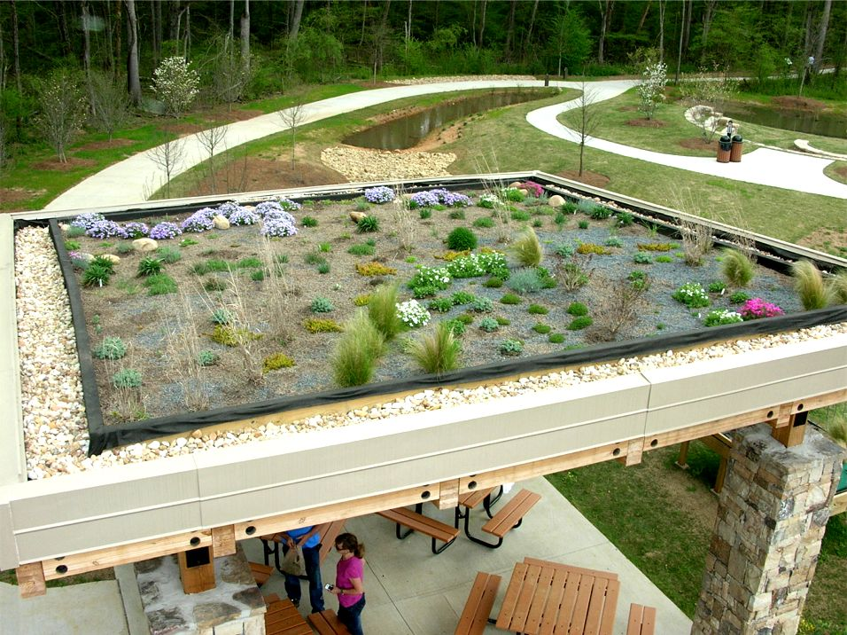 The Greenroof Pavilion & Greenroof Trial Gardens of Rock Mill Park Featured Image