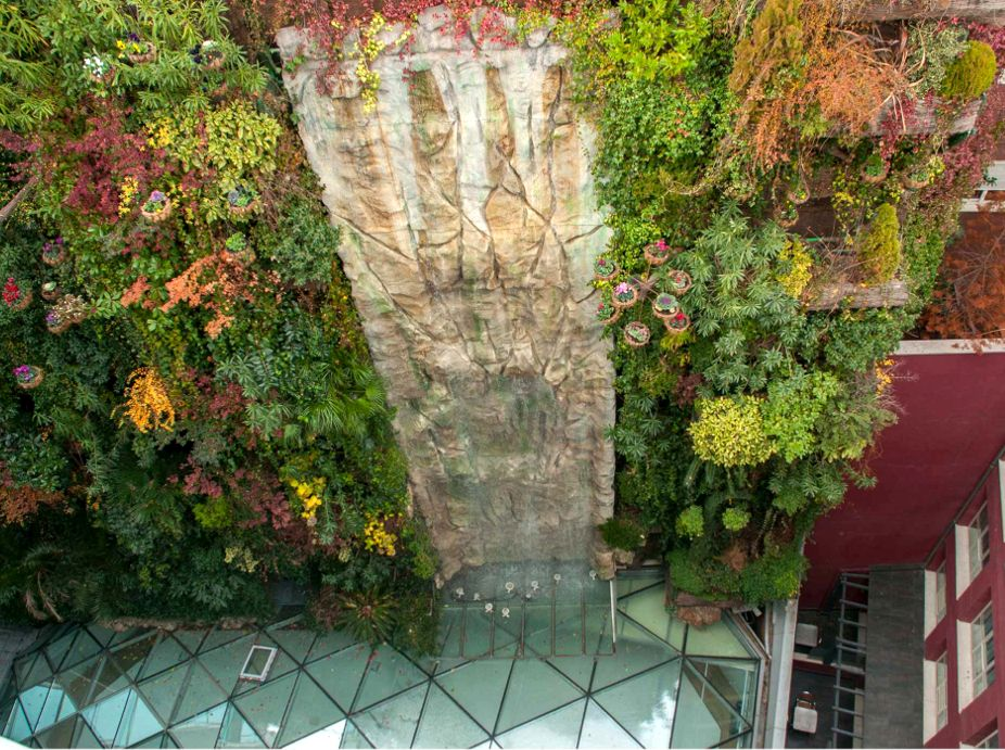 Hotel Santo Domingo Hanging Garden Featured Image