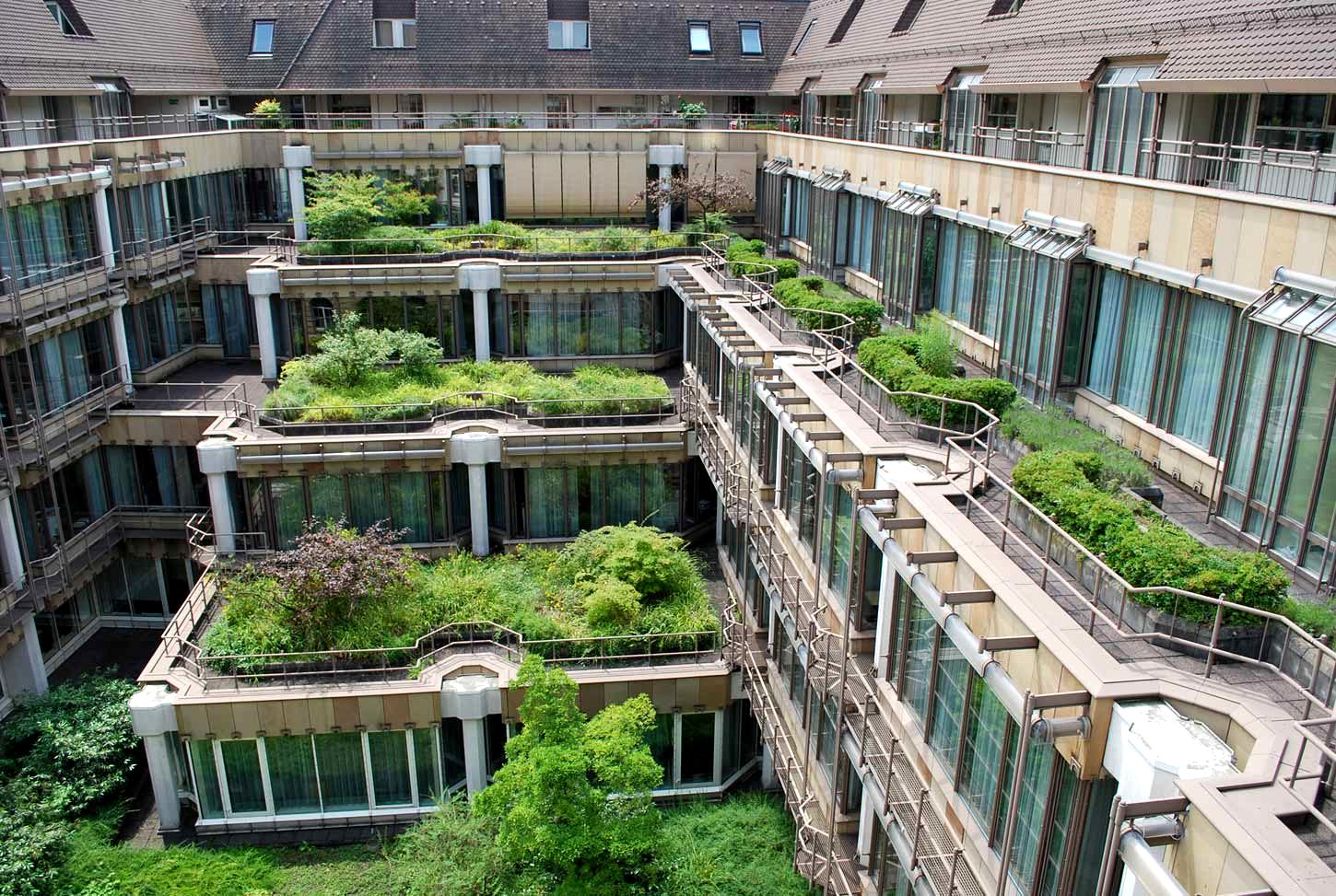 Insurance Financial Company Stuttgart Fbb Green Roof Of
