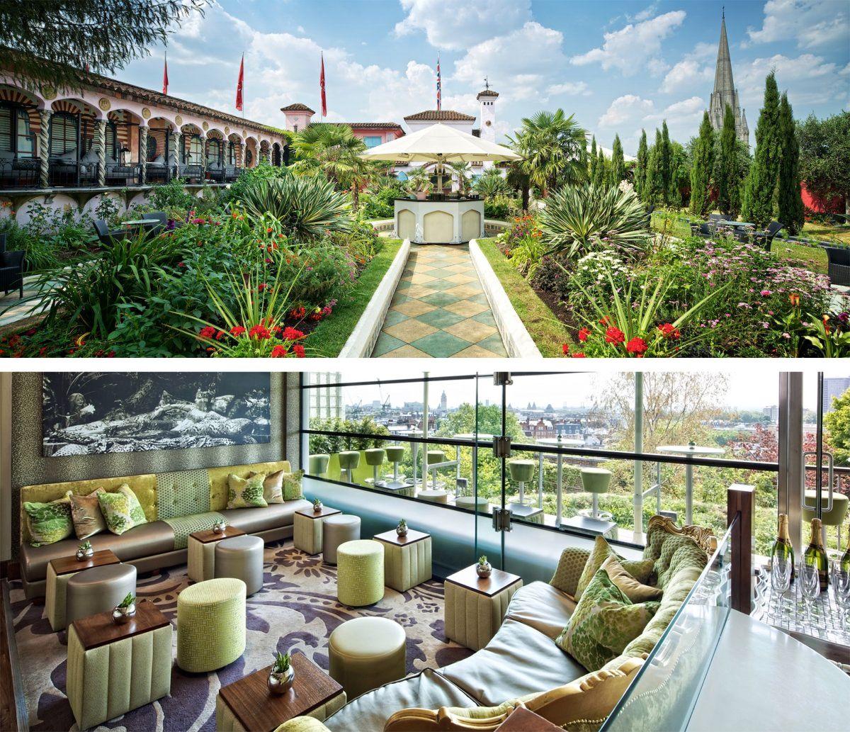 Kensington Roof Gardens (The Roof Gardens, Derry & Toms) - Greenroofs.com