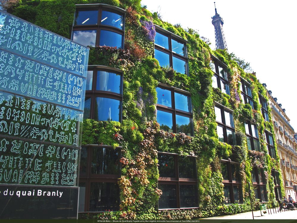 Musee du quai Branly Greenwall Featured Image