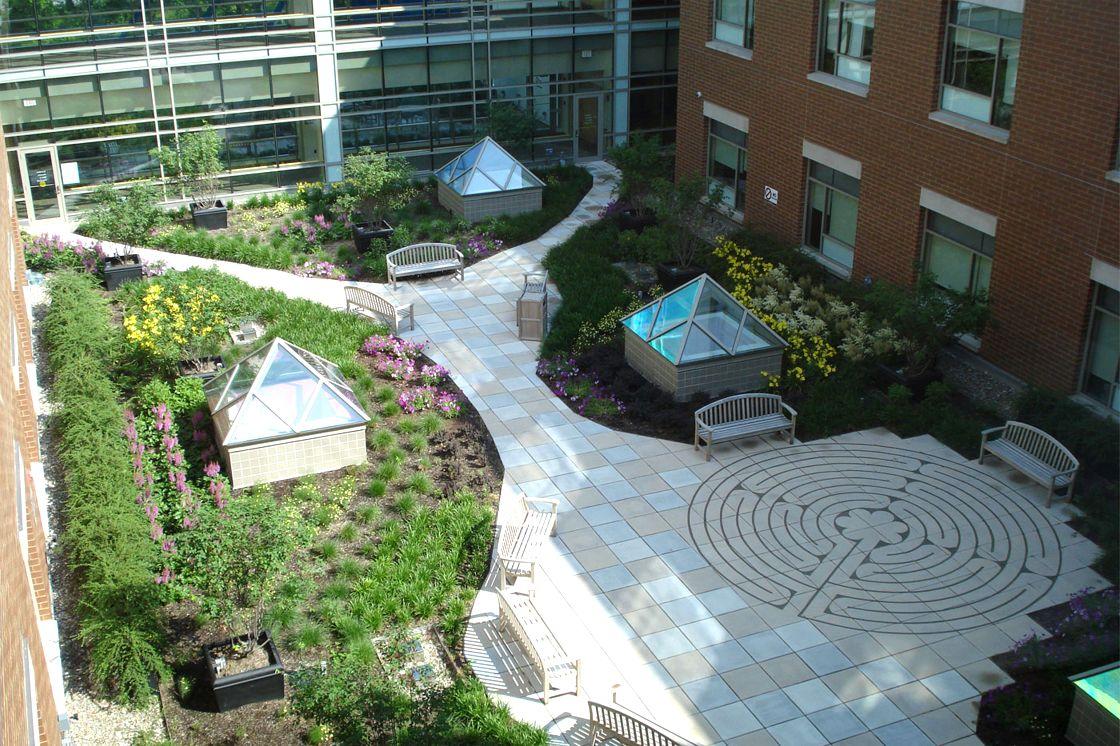 Indoor Courtyard Garden Home