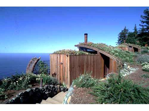 Ocean Houses At Post Ranch Inn Greenroofs Com