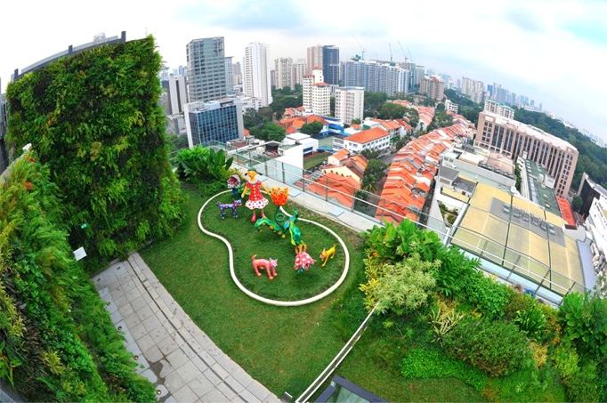 Orchard Central Mall Greenroofs Greenroofs Com