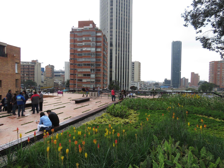 Parque - Bogotá Bicentenario Greenroofs.com