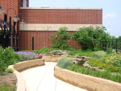 Schwab Rehabilitation Hospital Rooftop Garden - Greenroofs.com