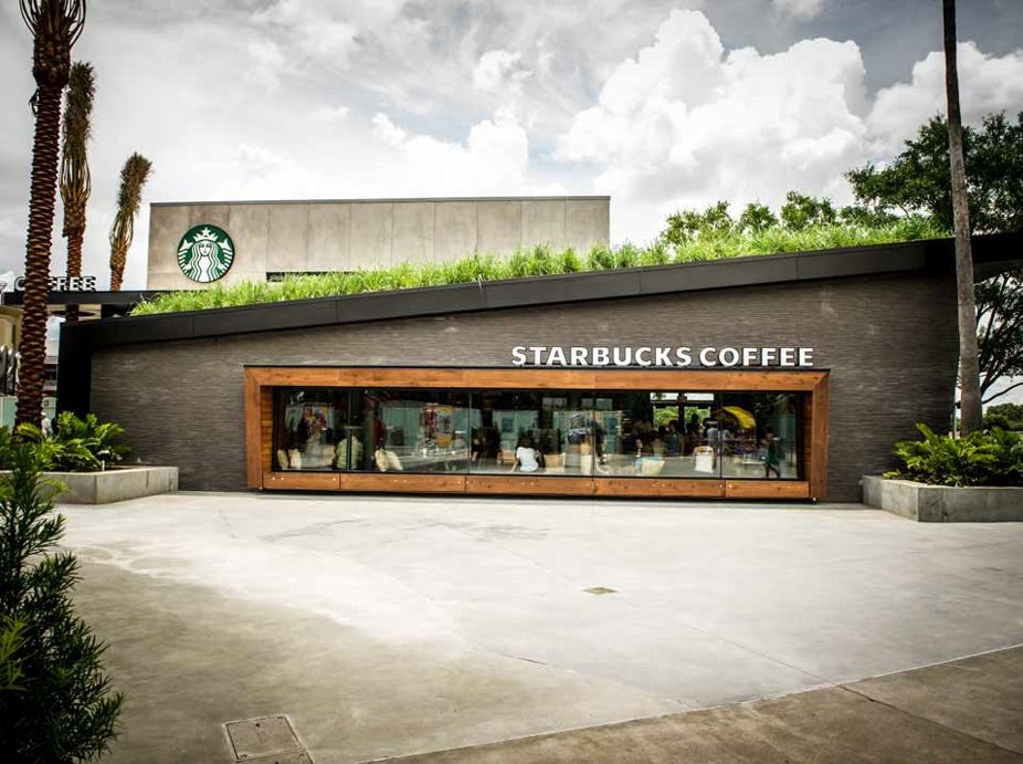 Starbucks Green Roof, Downtown Disney, Walt Disney World Featured Image