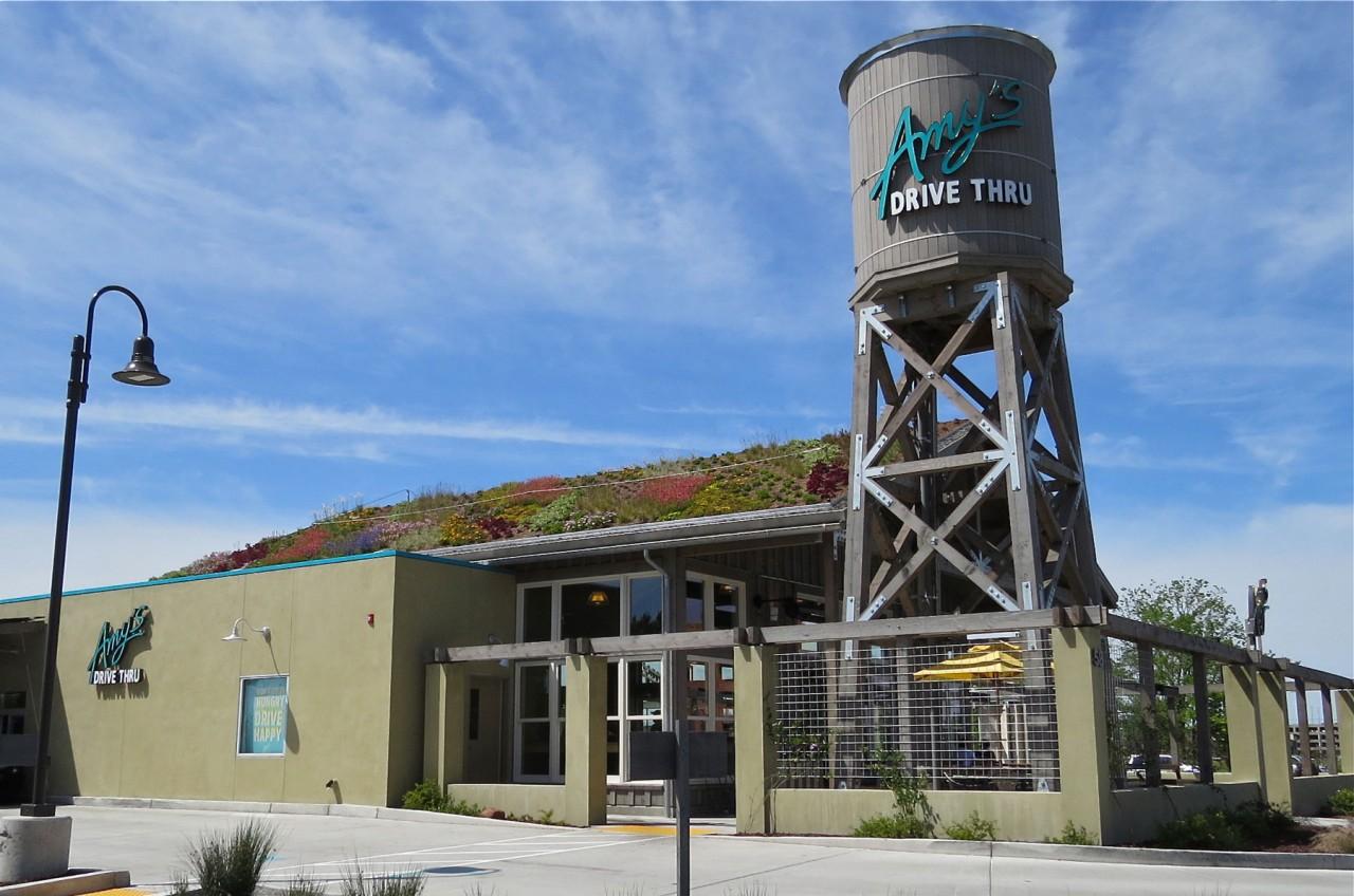 AMY'S Drive-Thru Restaurant, Rohnert Park - Greenroofs com
