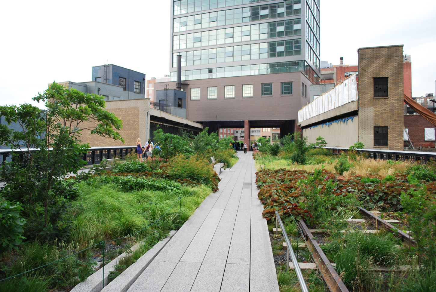 High Line Phase 1 Greenroofs Com