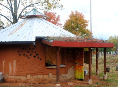 Vance Elementary Cob Garden Shed Featured Image