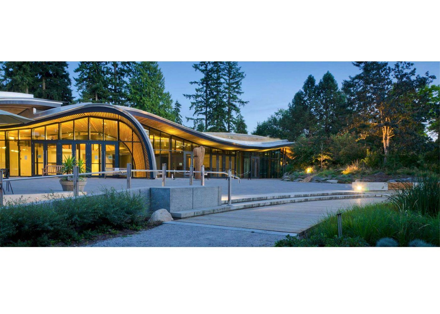 Vandusen Botanical Garden Visitor Centre Greenroofs Com