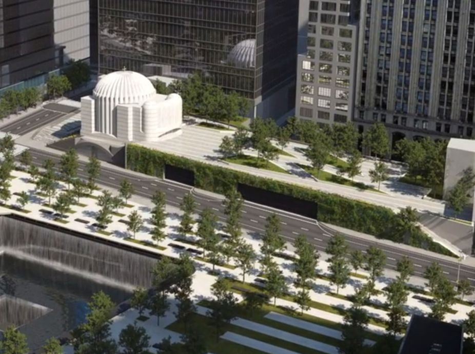 World Trade Center (WTC) Liberty Park Living Wall Featured Image