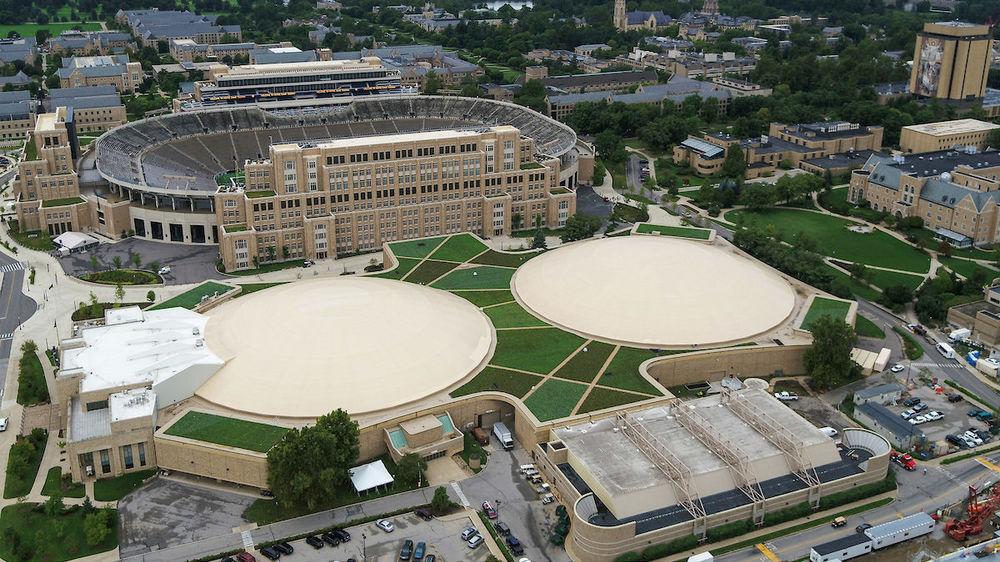Notre Dame's Joyce Center