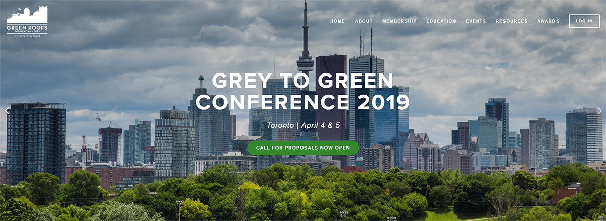 Grey to Green 2019 Call for Proposals