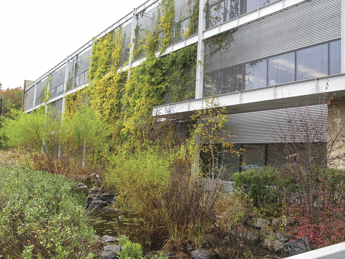 National Wildlife Federation HQ Green Façade Featured Image