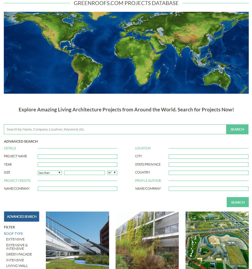 Greenroofs.com 2018 Featured Projects in Review
