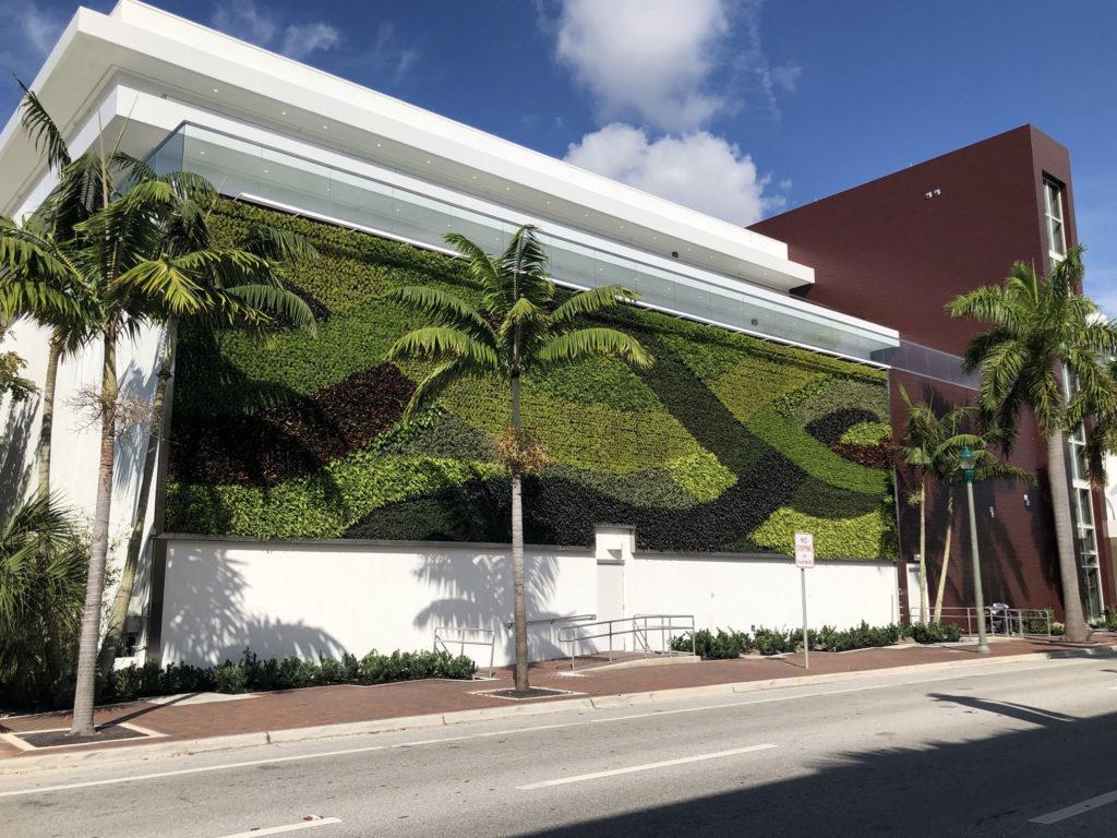 Gsky living green walls installs living green pro wall - How to make a living wall ...
