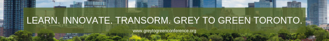 Join Green Roofs for Healthy Cities at Grey to Green Toronto