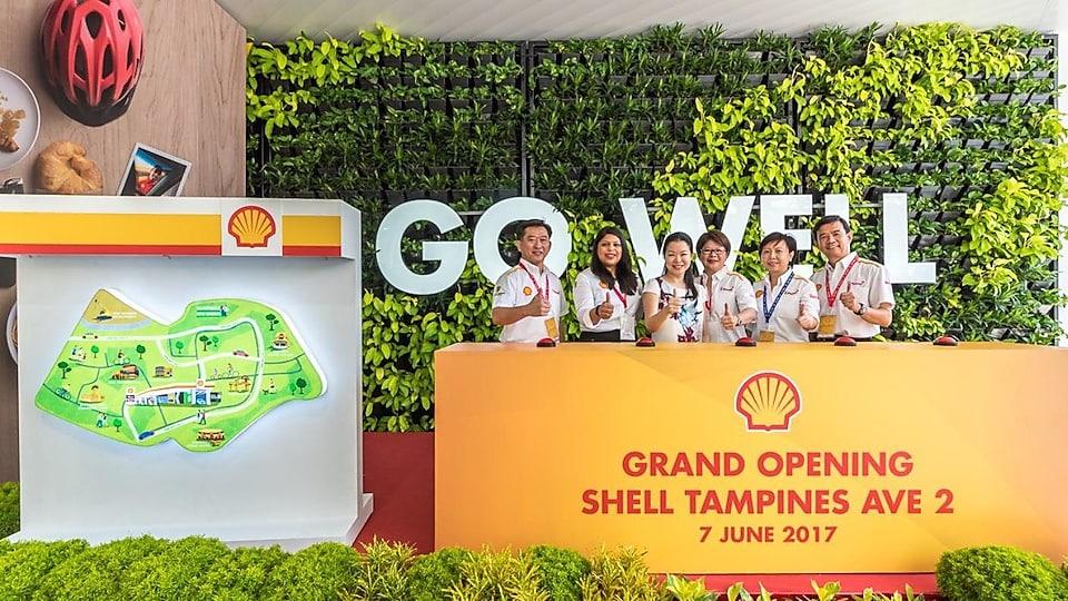 Shell Petrol Station Tampines Avenue 2 Singapore