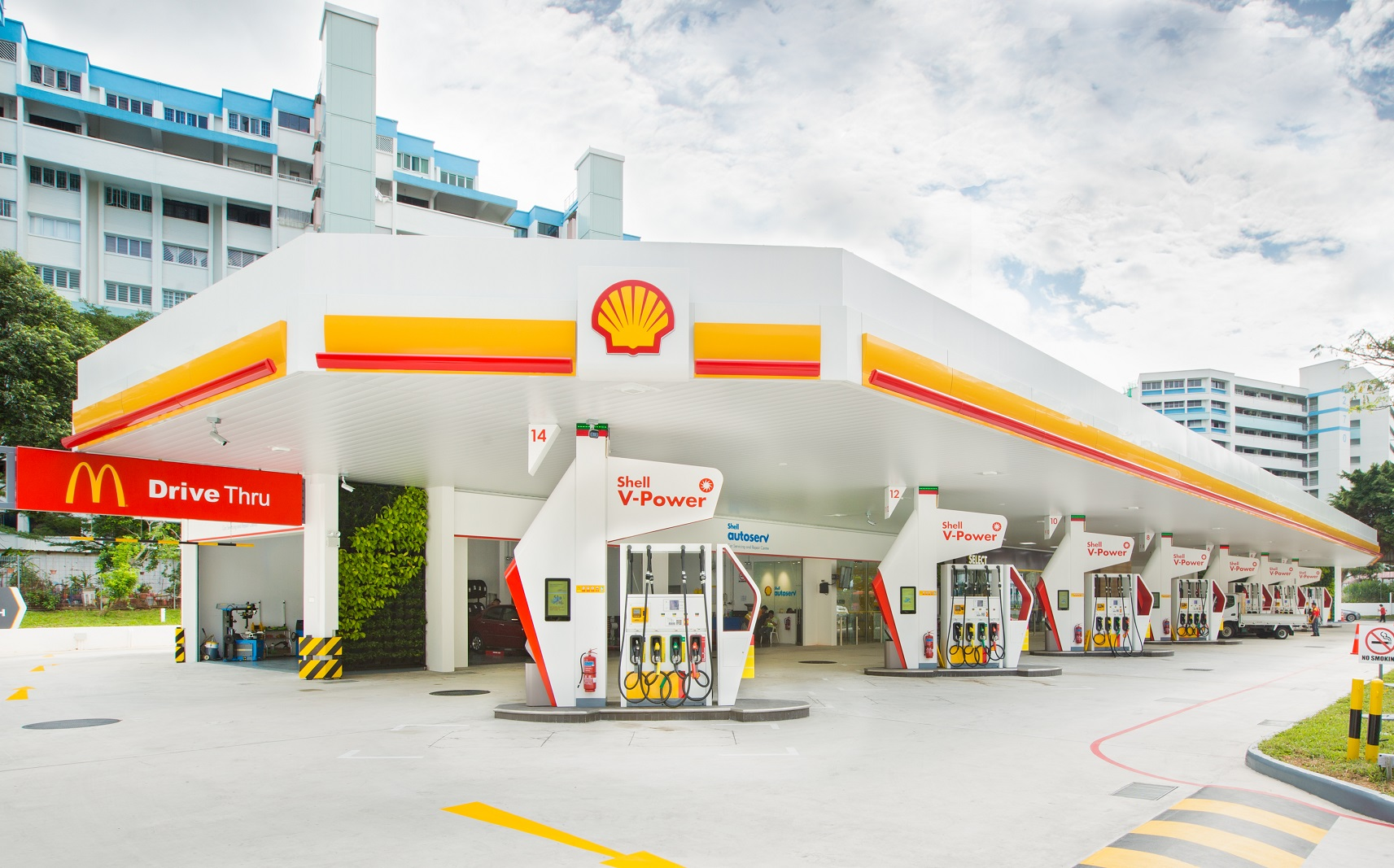 Shell Petrol Station Tampines Avenue 2 Singapore