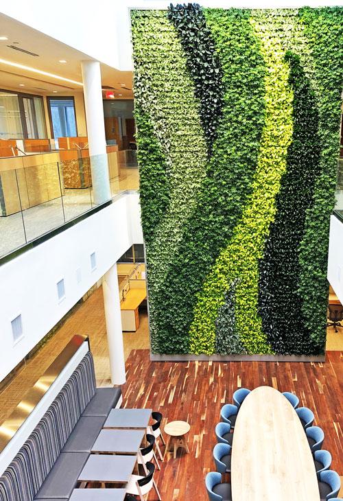 Gsky Versa Wall Wins International Living Green