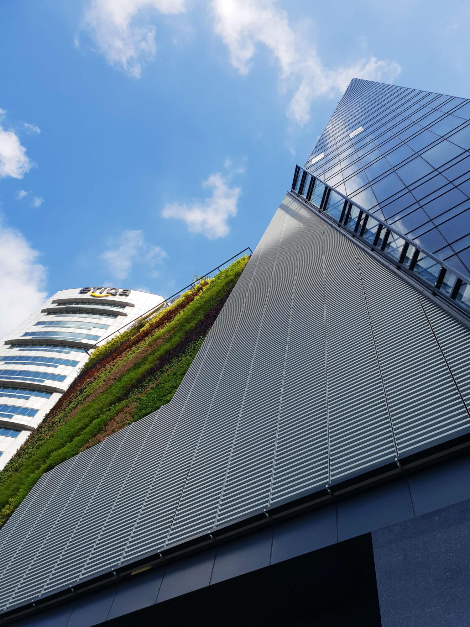 Menara Etiqa Living Wall
