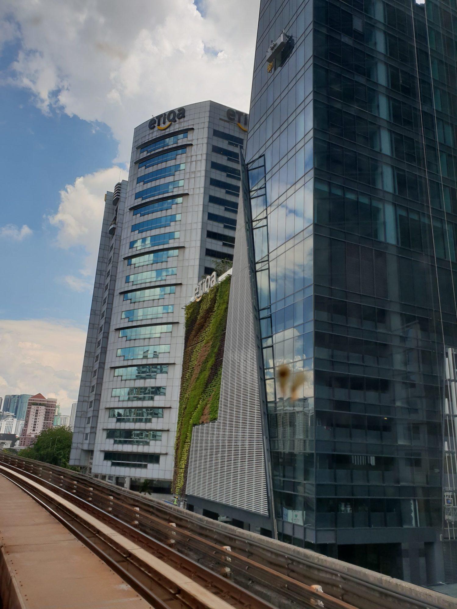 Menara Etiqa Living Walls
