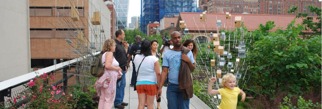 A Comparison of the 3 Phases of the High Line Part 6 - Public Art