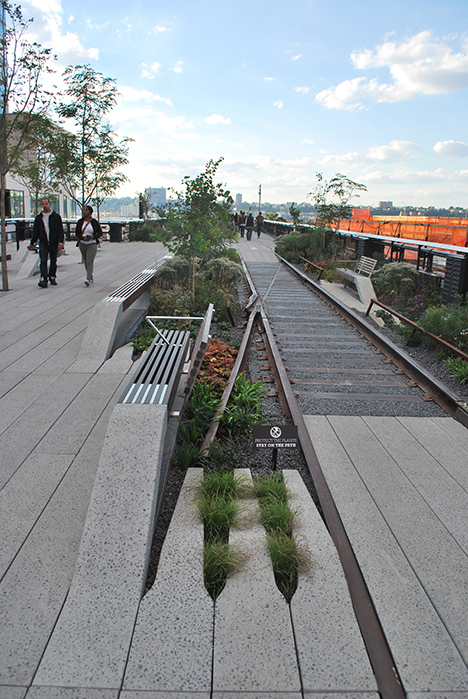 A Comparison of the 3 Phases of the High Line Part 13 - Phase Three As-built