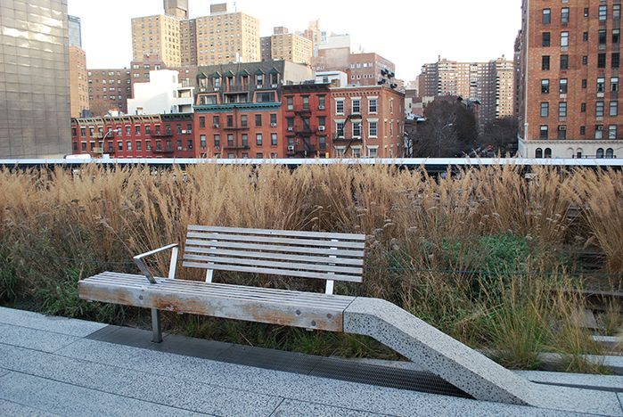 A Comparison of the 3 Phases of the High Line Part 2 - Seat Furnishings